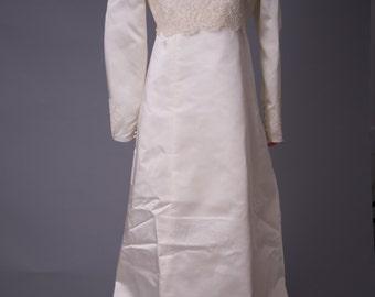 Vintage Demure Wedding Gown