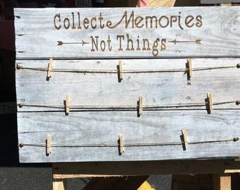 Wooden Memory Board