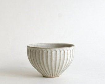 Shinogi Cafe au lait Bowl S (White) ; Koji Kitaoka (15005702-W-SW)