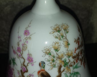 Bell, paradise bell, bird bell, knick knack, collectable, collectible, bird bell, gift,