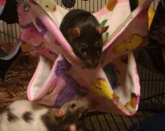 2, 3 and 4 layer honeycomb hammocks for rats and other small animals