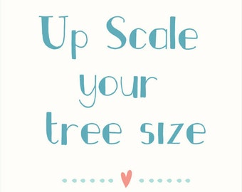 Up Scale your tree size
