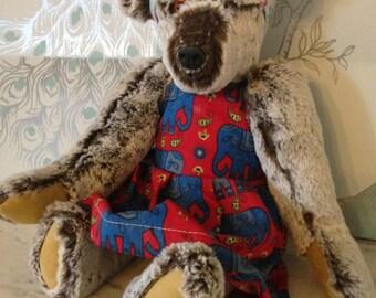 Meet May-Belle. A handmade, designer bear
