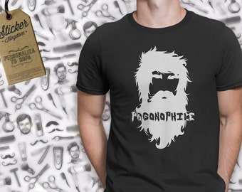 Pogonofilia (Pogonophile) vinyl for t-shirt of cotton or polyester