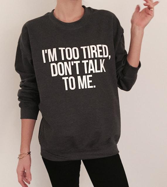 talk to ladies sweatshirts