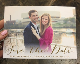 Photo Save the Date Printable