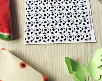Soccer Sport Planner Stickers