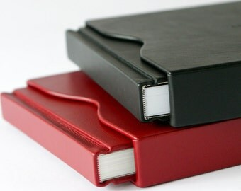 luxury leather slipcases for albums and books