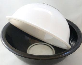 Rare Black and White Pyrex