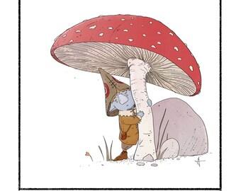 Toadstool Gnome