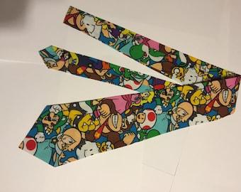 Nintendo Characters Adult Necktie