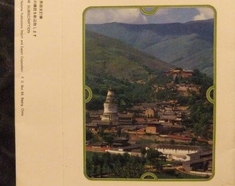 Vintage 7 Temples in China Postcards Box Set