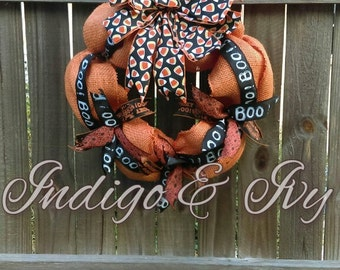 CANDY CORN  Premium Small Halloween Wreath, Ready to Ship