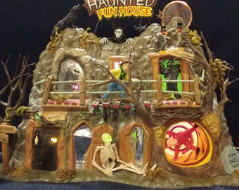 Department 56 Haunted Fun House
