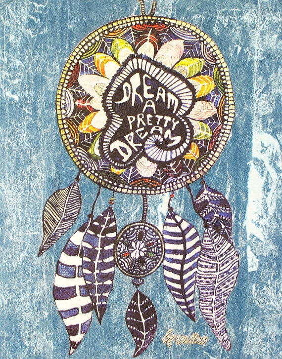 Dream A Pretty Dream Tank Dress, Dreamcatcher, Festival Wear, Boho, Bohemian, Hippie Clothes, Yoga, Meditation, Spiritual, Gypsy
