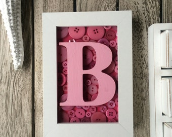 Custom made letter frame/wooden letter/personalised gift
