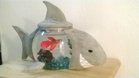 Funquarium Shark Shaped Aquarium