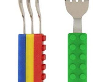 Building Block Fork Set 4 pcs