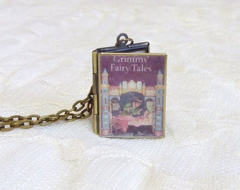 Grimms' Fairy Tales Story Locket