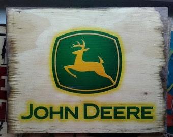 """John Deere Print - 9""""x11"""""""