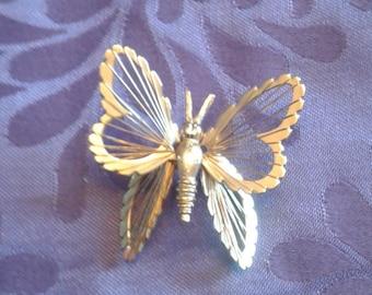 Butterfly Vintage brooch