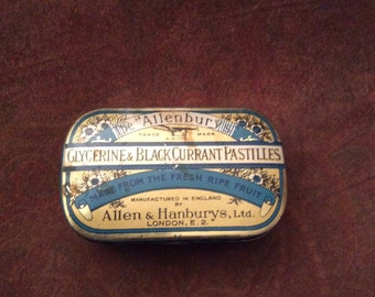 Tin, Allenburys tin, Englis tin