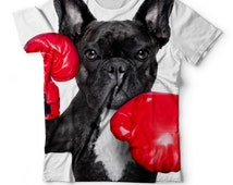 Puncher French Bulldog tshirt for kids