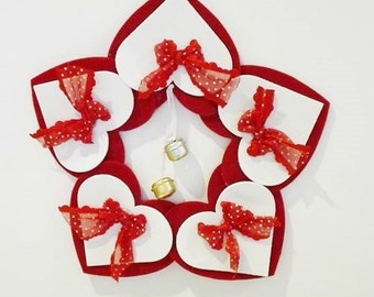 Christmas garland outdoor gift fuoriporta natale handmade
