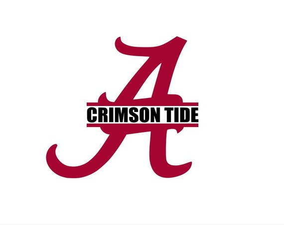 Alabama roll tide crimson tide wall truck by cardecalswindow for Alabama football wall mural