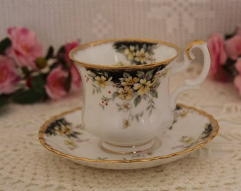 Royal Albert Royal Ascot, 1983 demitasse Teacup and Saucer