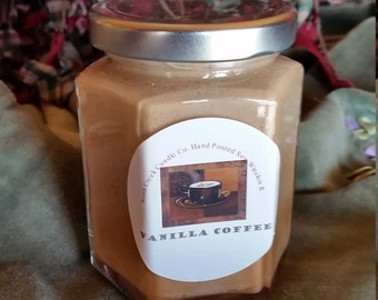 Vanilla Coffee Soy Candle
