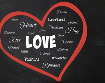 Valentines Day Love Heart (Digital Download)