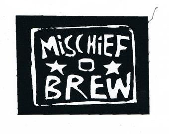 Mischief Brew Punk Patch