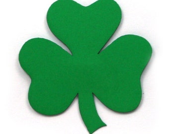 Shamrock Paper Cutout - 1-1/2 inches by 1-1/2 inches (PSHAM02)