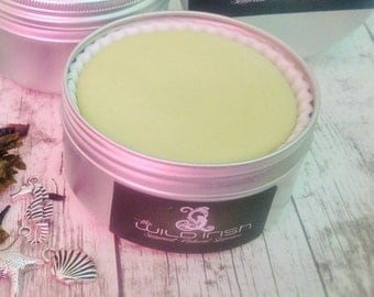 SOLID LOTION BAR. Vegan. Organic & Natural Ingredients. With Seaweed and Pure  Essential Oils.