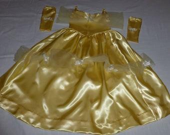 Princess Belle Dress/Belle Costume/Beauty and the Beast/Princess Dress
