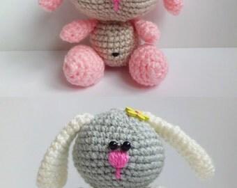 Etsy Amigurumi Bunny : Amigurumi bunny Etsy