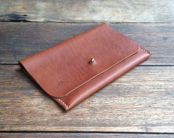 Leather Purse/Pouch - hand cut, hand stitched, handmade