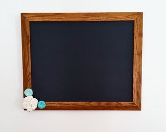 Blue Accent Chalkboard