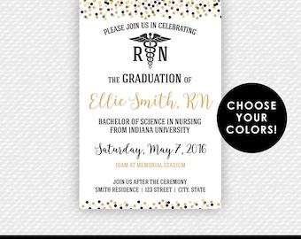 Nurse Graduation Invitations Image collections Invitation