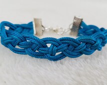 Nautical Rope Bracelet Woven 13 Colors Handmade Jewelry