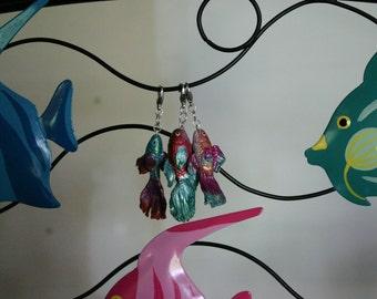 Betta fish Charms