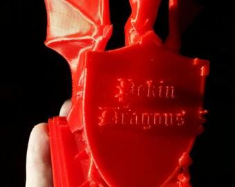 Pekin Dragon With Shield
