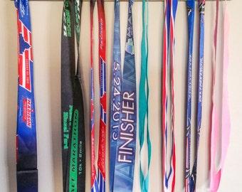 """Handmade Running Medal Display """"'Texas' Runner"""""""
