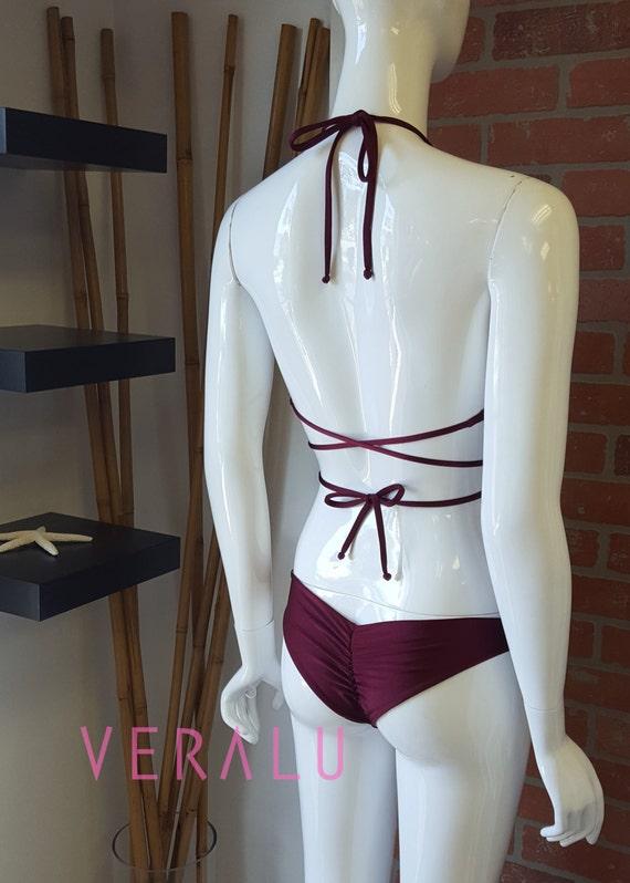 VERALU Venom reversible scrunch bikini set