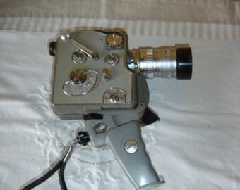 Belle camera CAMEX Ercsam 8 reflex 8mm avec objectifs Angenieux et berthiot.  Vintage . France