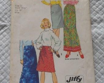 Vintage 70's Simplicity Pattern 5982 new UNCUT
