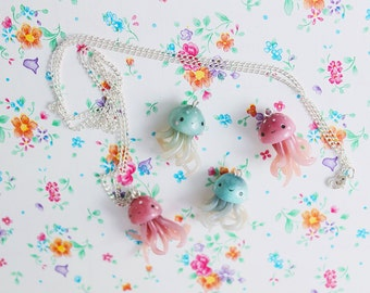 Kawaii Jellyfish Necklace