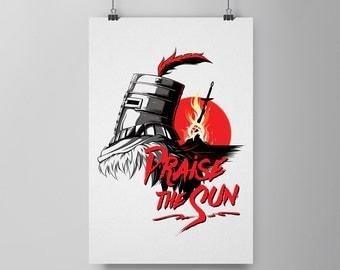 """Praise the Sun: Sun Bros 11x17"""" Print"""