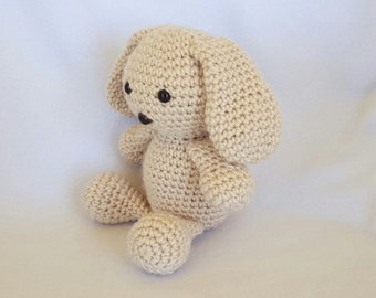 Willow the Crochet Stuffed Bunny